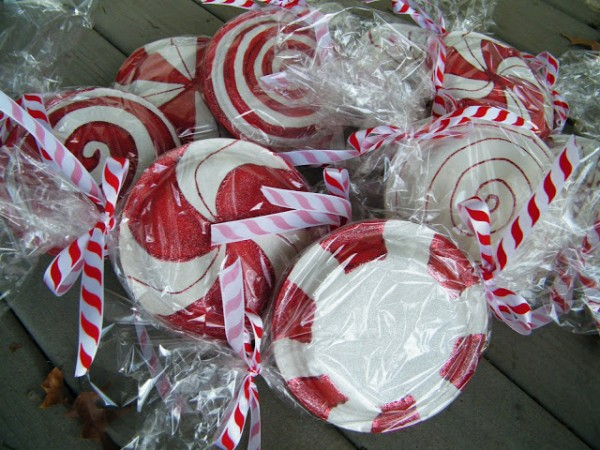 Paper Plate Peppermint Candy Tutorial