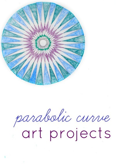 Cool Math Art with Parabolic Curves