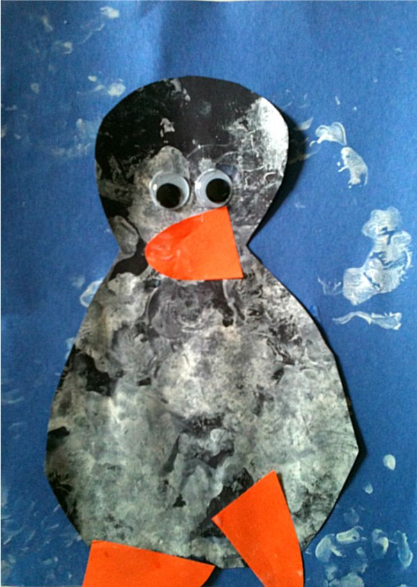 Simple Penguin Craft