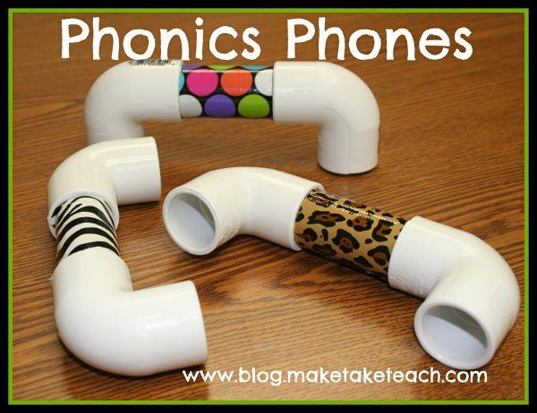 How To Make A Phonics Phone