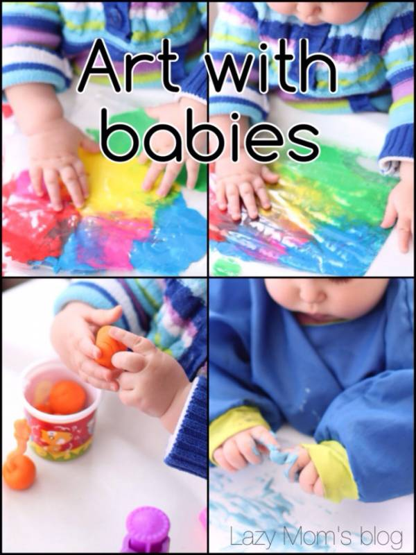 Art with Babies