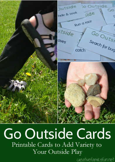 Go Outside Cards