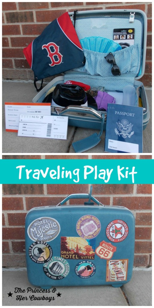 Traveling Play Kit for Kids