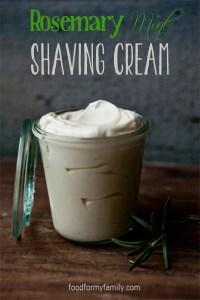 Rosemary Mint Shaving Cream