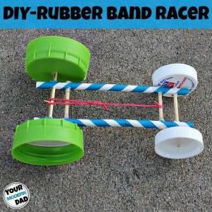 DIY Rubber Band Racer