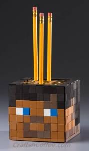 DIY a Minecraft Pencil Cube