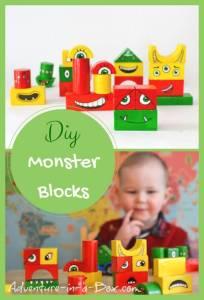 Make-a-Monster Blocks