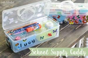 School Supply Organizer Caddy