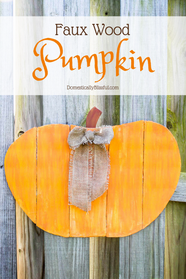 Faux-Wood-Pumpkin
