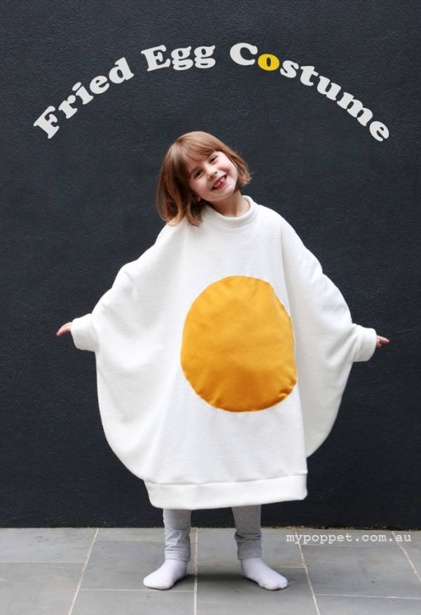 DIY Fried Egg Halloween Costume – Anyone Could Have A Crack At This ...