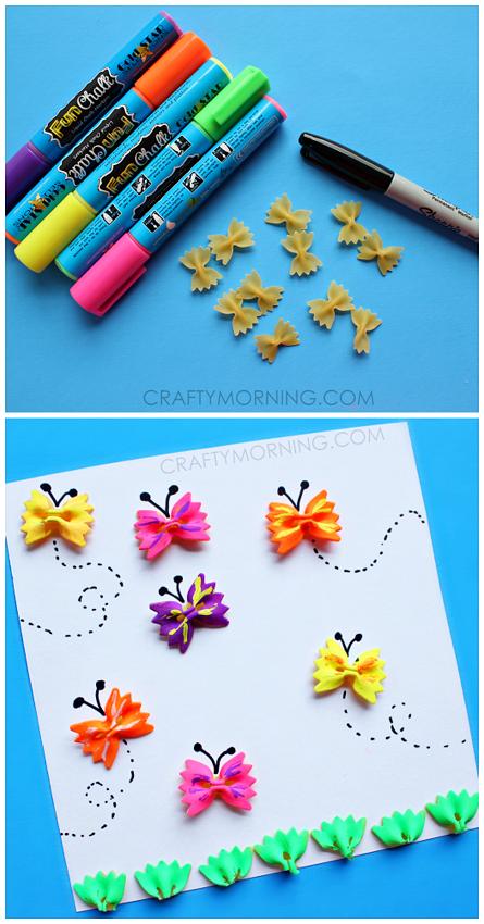 noodle-butterflies-craft-for-kids