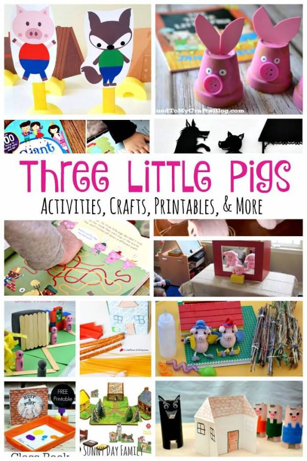 three little pigs activities (1)