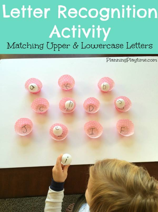 Help kids learn to recognize letters with these fun activities.