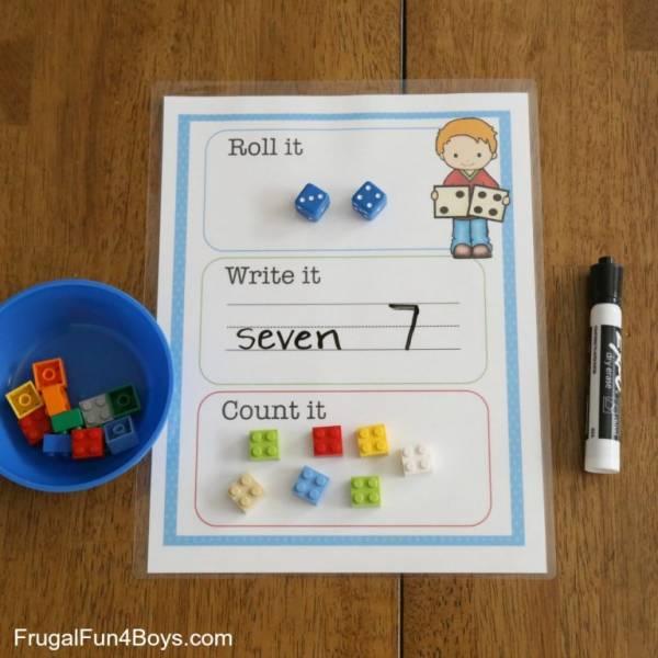 roll it count it mat