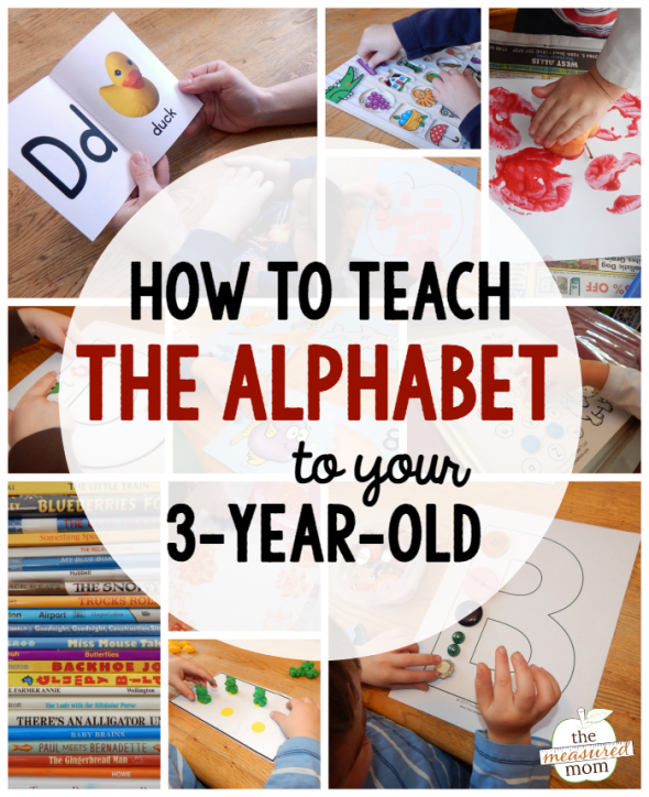 Learning Letters With A 3-Year-Old – Lesson Plans
