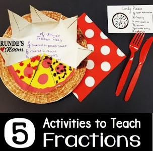5 Fun Activities for Teaching Fractions