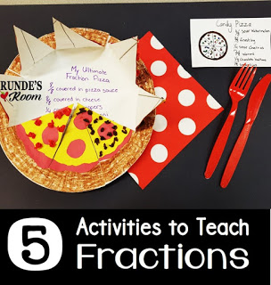 Activities for learning fractions