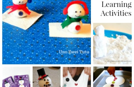 A Ton of Fun Snowman-Related Activities