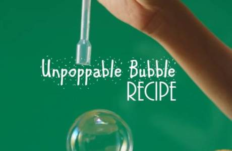 Unpoppable Bubbles are a Fun Science Lesson