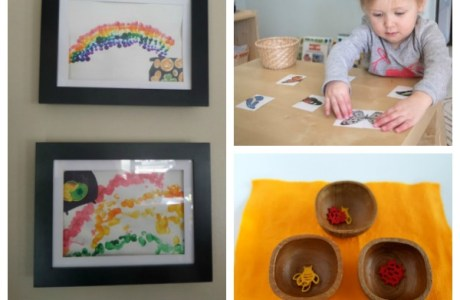 Easy-Set-Up Spring Activities for Toddlers