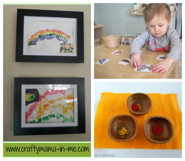 Spring activity ideas for toddlers.