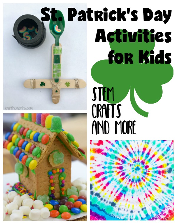 Kid's activities for St. Patrick's Day.