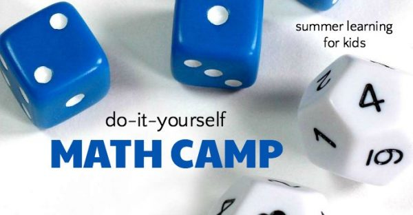 DIY summer math camp to keep kids' skills up.