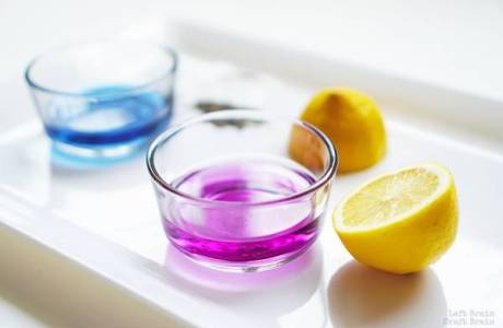 How to Make Color-Changing Lemonade