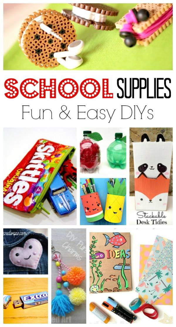 school supply diy projects
