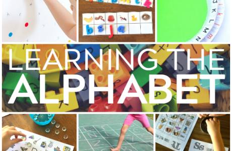 Resources for Helping Kids Learn the Alphabet