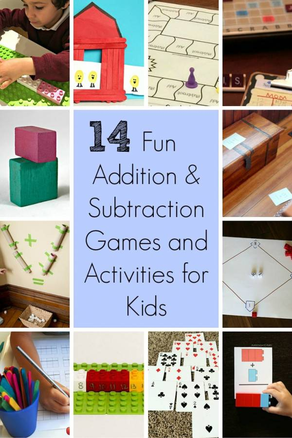 Addition and Subtraction Games for Kids