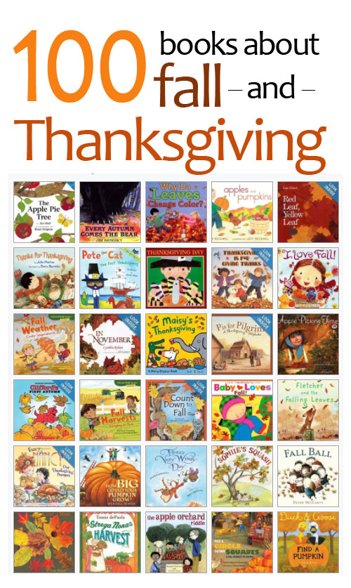 fall and thanksgiving books for kids