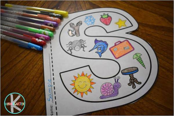 Fun Alphabet Coloring Sheets to Print