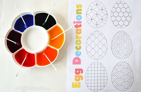 Use Egg-Shaped Printables for Fun Art Experiences