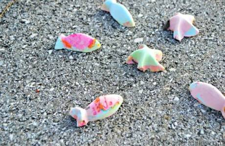 Make Your Own Color-Changing Sidewalk Chalk