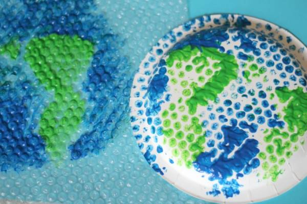 More Easy Crafts for Earth Day