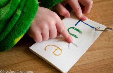 Tactile Name Writing Practice