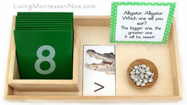 image regarding Greater Than Less Than Alligator Printable called Larger sized Than/A lot less Than Alligator Math Lesson Courses