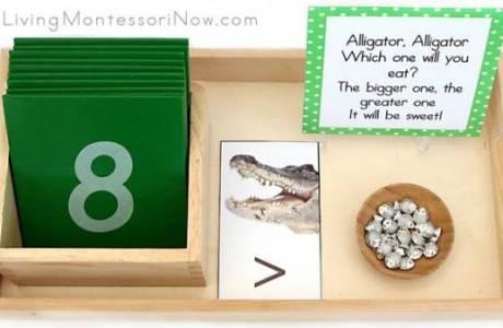 Greater Than/Less Than Alligator Math