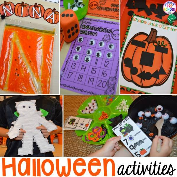 halloween learning centers