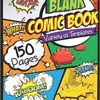 Book Review - Blank Comic Book: Draw Your Own Comic