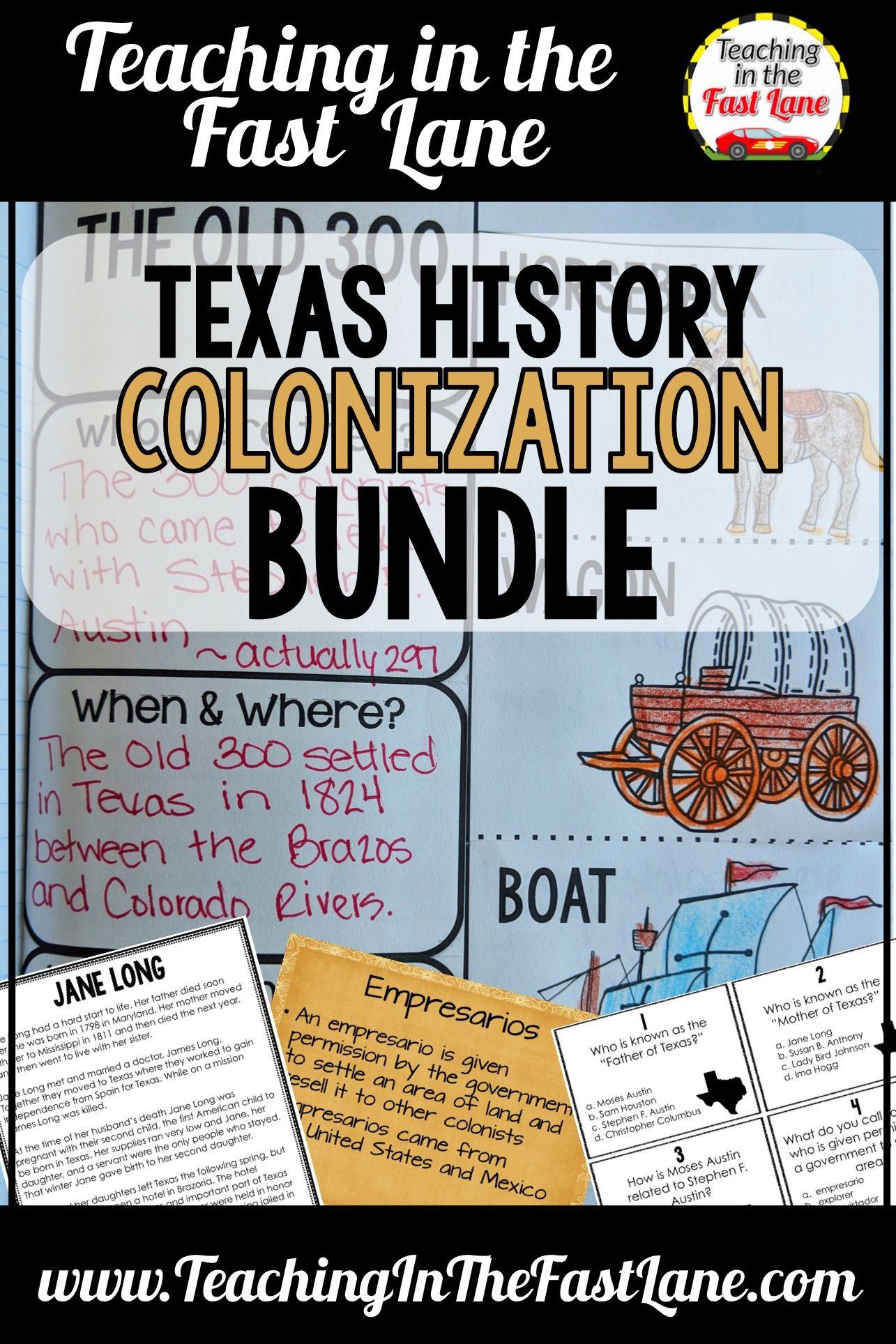 Texas History 4th Grade Lesson Plans