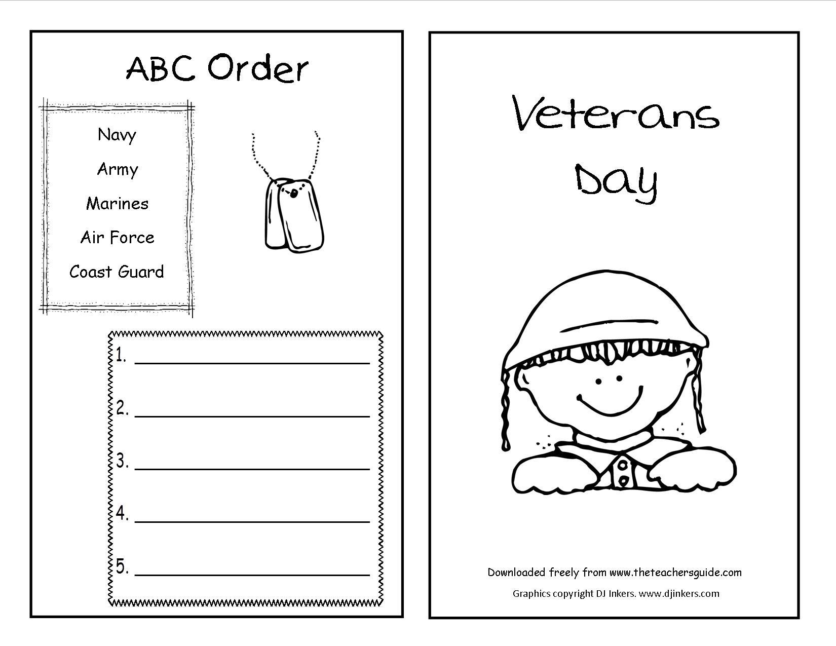 Veterans Day Lesson Plans For Preschool