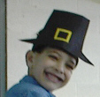 Boy Pilgrim Hat