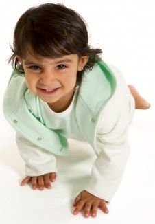 child crawling like a caterpillar - The Very Hungry Caterpillar Gross Motor Activity