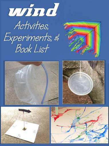 wind activities, experiments, and book list