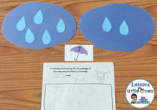 decomposing numbers math center