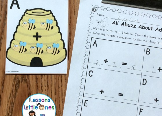 Differentiated addition practice, around the room (SCOOT)