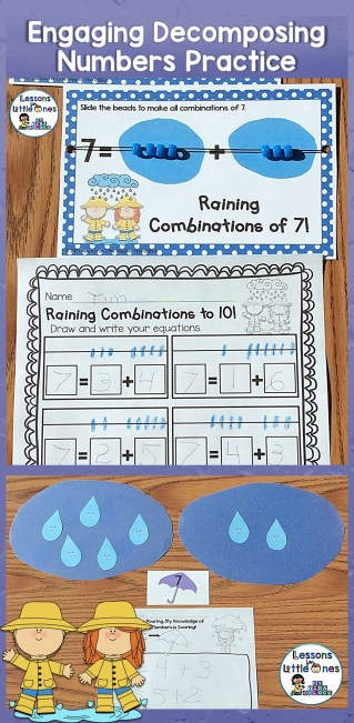 Engaging and Fun Decomposing Numbers Practice K.OA.A.3