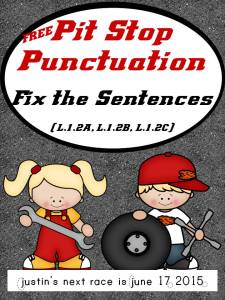 free punctuation pages